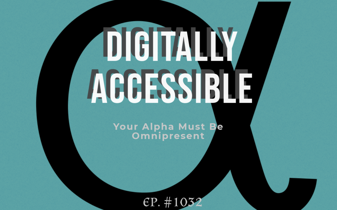 Digitally Accessible…